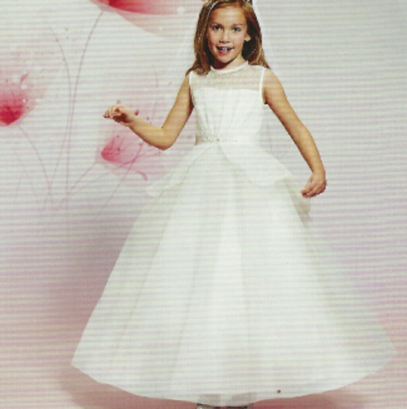 Mary's Bridal Other - Mary's Bridal White Girls Dress